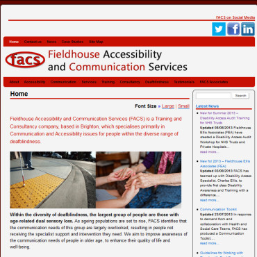 FACS Ltd website