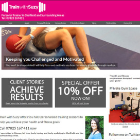 Train with Suzy website